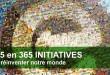 Redécouvrir 2015 à travers 365 initiatives qui rendent le monde meilleur