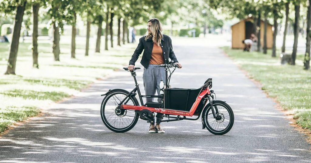 Packster 40 velo cargo electrique