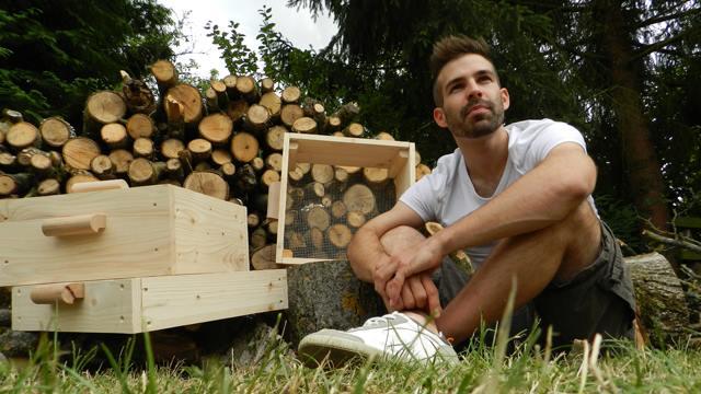 Jérémie Durand, créateur de la boîte à Terre