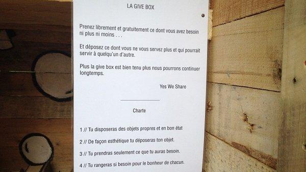 Charte bonne conduite Give Box