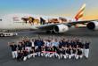 Deux airbus A380 de la compagnie aérienne Emirates se parent d'espèces animales menacées pour lutter contre le trafic d'animaux sauvages