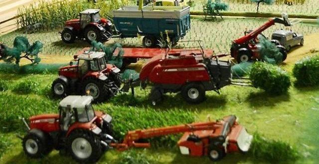 Un monde miniature pour découvrir l'activité agricole
