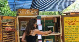 Une givebox pour echanger avec ses voisins