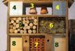 Choisir matériaux hotel à insectes