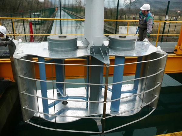 Le projet Hydroluv en test sur la Loire jusqu'en juin 2016 | Photo : entreprises.gouv.fr
