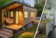 La maison de Macy Miller, une Tiny House de 18m² auto-construite à partir de matériaux de récupération