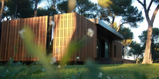 Maison passive Pop-up House