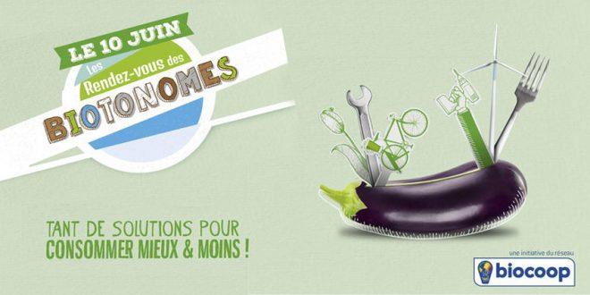 Les biotonomes vous donnent rendez-vous le 10 juin