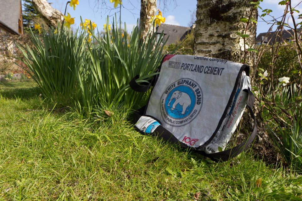 Sac recyclé Angkor messenger