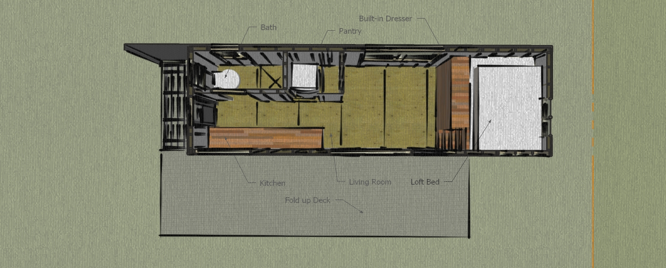 La tiny house de macy miller 18m de pur bonheur et d for Construire sa tiny house