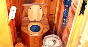 Toilettes sèches à litière carbonnée