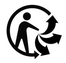 Triman, nouveau logo recyclage